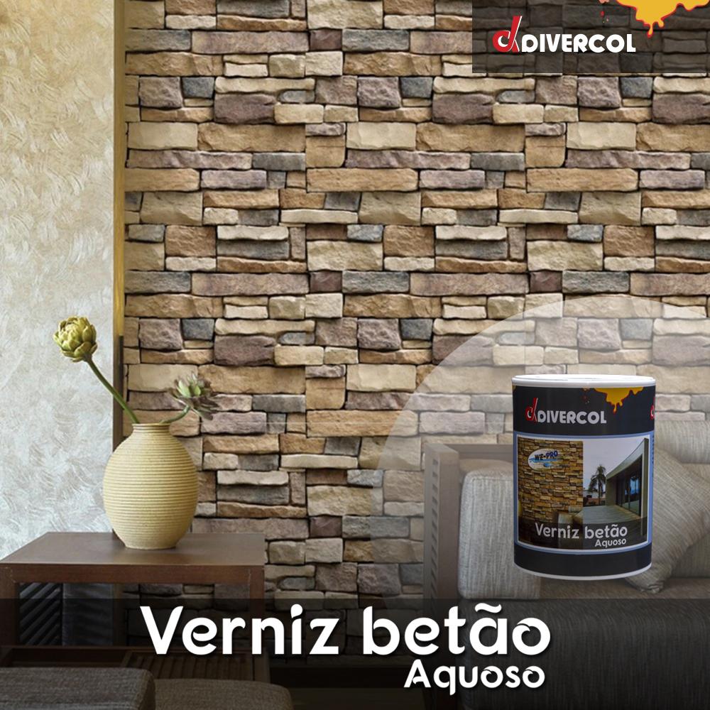 Envernize superfícies em betão em sua casa com o Verniz Aquoso para Betão Divercol